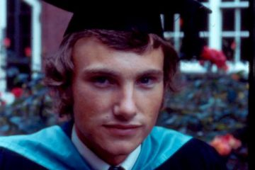 Tony Graduating from The University of Hull in July 1973